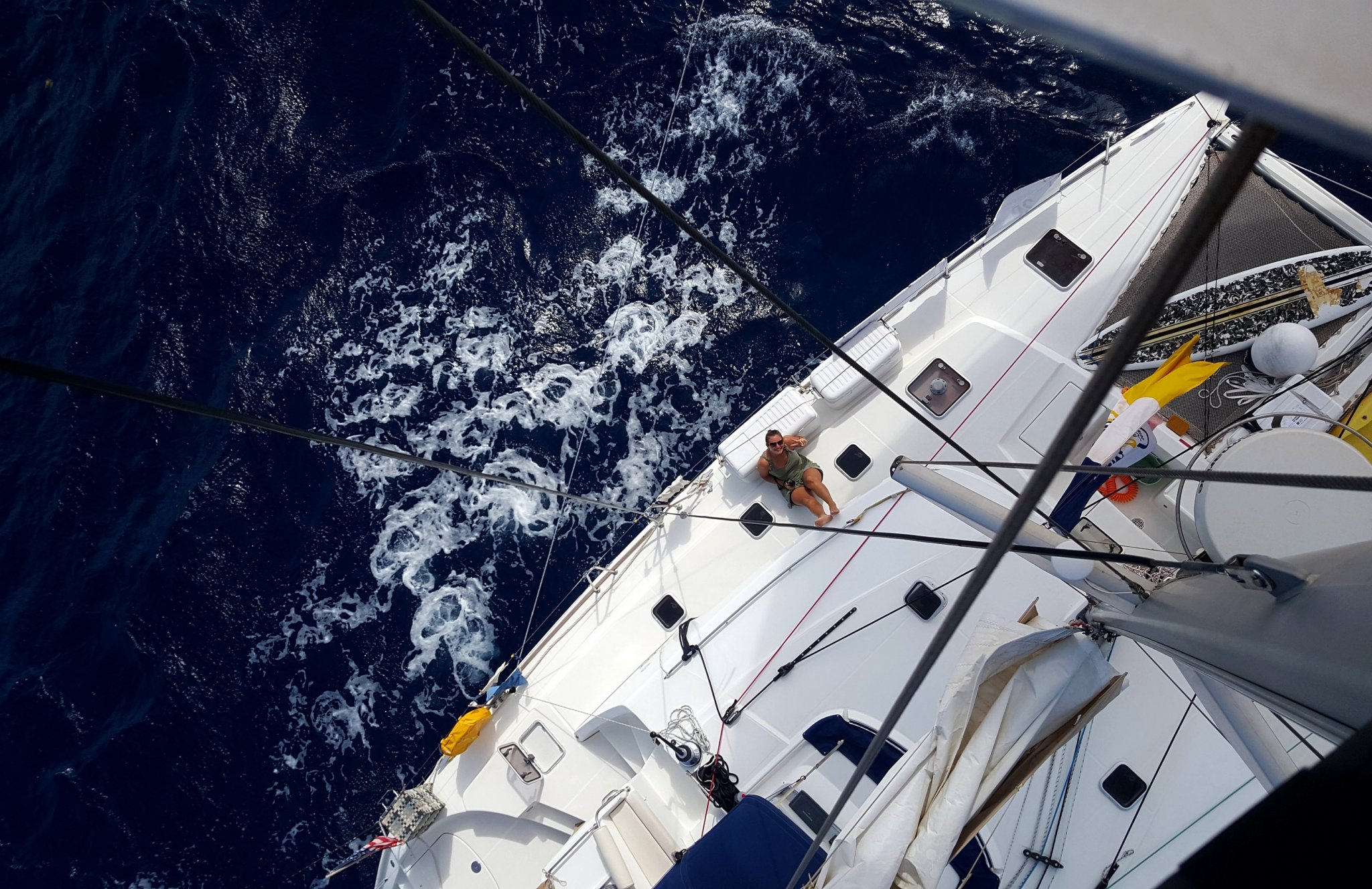 …HITCHSAILING THE ATLANTIC