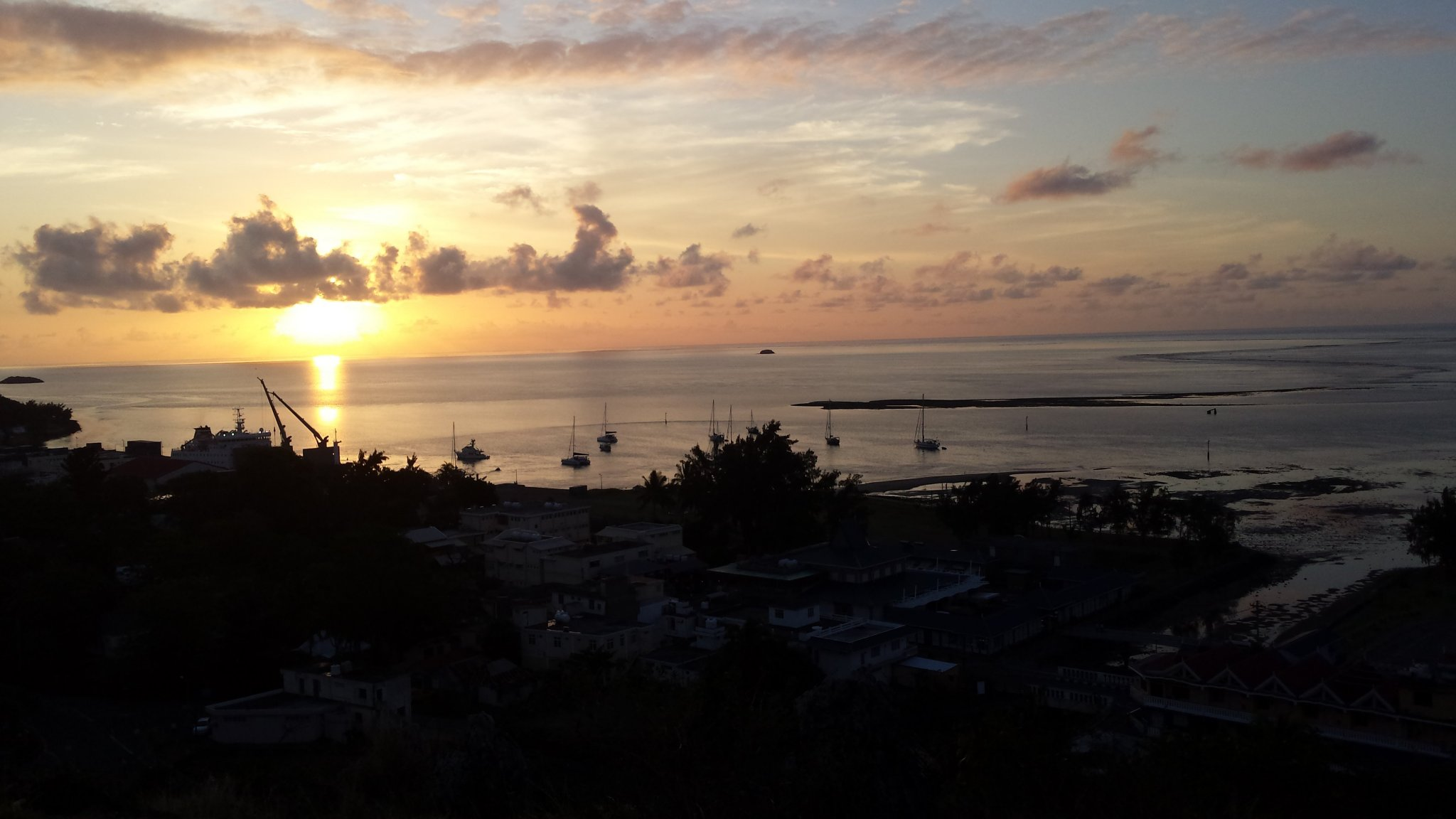 Remote-Island-Indian-Ocean-Rodrigues-harbour-Port-Mathurin-Sunset