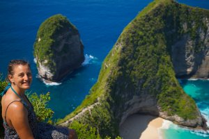 Bali-Seganing-Waterfall-Nusa-Penida-Kelingking-Beach
